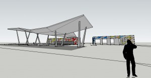 Service Station on the Cotter Road Development Application approved with conditions
