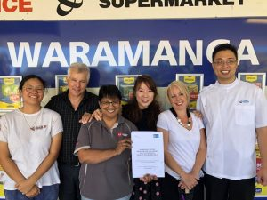 Waramanga residents continue their push for a playground at the shops