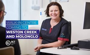 New Walk-in-Centre for Weston Creek and Molonglo