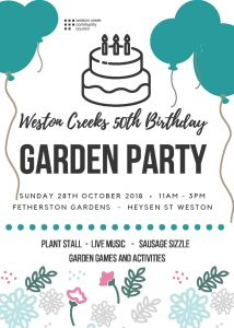 Celebrate Weston Creeks' Anniversary