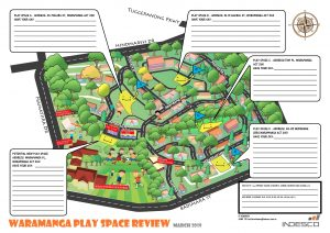 Your Opportunity to help Design new Play Spaces for Waramanga