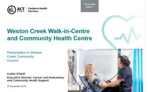 Walk-in-Health centre to Open on Friday 13th of December