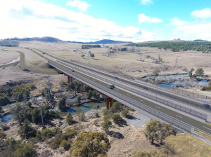 Minister Steel responds on the Molonglo Bridge