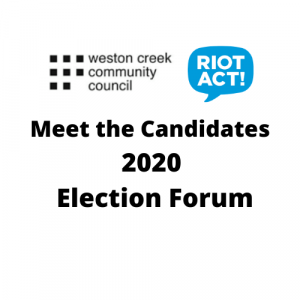 Meet the Candidates - Election Forum - 30 Sep 20